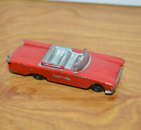 "Vintage TOOTSIETOY FORD SUNLINER Diecast Metal Car Toy HO Scale 2.5"" Long"