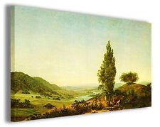 Quadro moderno Caspar David Friedrich vol IX stampa su tela canvas famosi
