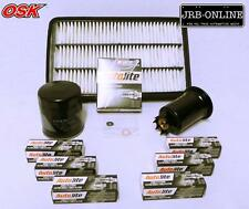 HOLDEN APOLLO JP JM 3VZ-FE 3.0L V6 OIL AIR FUEL FILTER SERVICE+SPARK PLUGS 93-97
