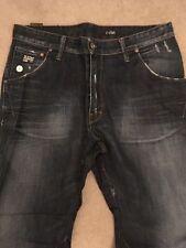 Indigo, Dark wash G-Star Big & Tall Rise 34L Jeans for Men