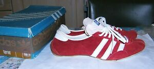 "*RARE Vintage 1980s ADIDAS ""SATURN"" Spikes UK8to8.5 US8.5-9 EU42 J265 W. Germany"
