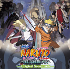 Naruto The Movie 2: Legend of the Stone of Gelel Anime Original Soundtrack CD