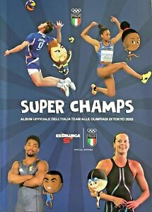 "evado mancoliste figurine ""Super Champs"" OLIMPIADI 2020 - Esselunga 2021"