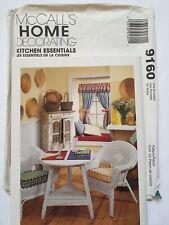 McCalls Kitchen Essentials Pattern Cafe Curtain Chair Cushion Oven Mitt Napkin