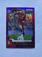 2019-20 Panini Prizm Premier League Trent Alexander-Arnold Purple Prizm Card /99