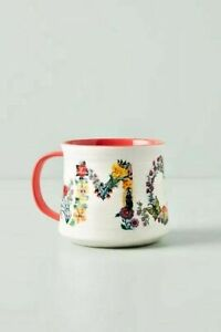 NWT Nathalie Lete Mom Botanical Mug