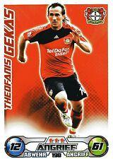 198 Theofanis Gekas - Bayer Leverkusen - TOPPS Match Attax 2009/2010