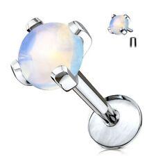 Semi Gems Opalite Piercing Labret Stone