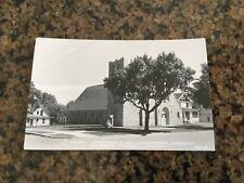 Vintage Postcard RPPC MN St John's Evangelical Lutheran Church Redwood Falls