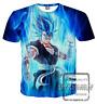 New Fashion Women/Men Dragon Ball Z Goku 3D Print Casual T-Shirt JK1584