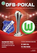 DFB-Pokalfinale 21.05.2016 SC Sand 1946 - VfL Wolfsburg in Köln