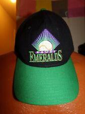 Vintage MiLB Kauai Emeralds Hawaii Starter Snapback Cap Hat Wool.
