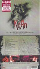 CD--KORN --LIVE AT THE HOLLYWOOD PALLADIUM--DIGI+DVD