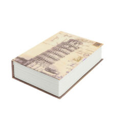 Large Fake Book English Dictionary Book Safe Money Box Storage Box Password Lock