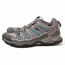 SALOMON X Ultra Hiking Shoes Size 11.5 Grey 171383 GTX GORETEX Waterproof Mens