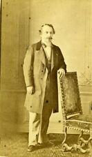 France Paris Emperor Napoleon III Old Levitsky CDV Photo 1860's