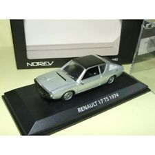 RENAULT 17 TS 1974 Gris NOREV 1:43