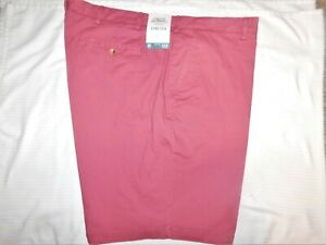 IZOD Saltwater Shorts Stretch Relaxed Classics Flat Frt Big & Tall Saltwater Red