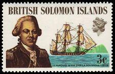 """SOLOMON ISLANDS 214 (SG201) - Count de La Perouse and """"La Boussole"""" (pa82816)"""
