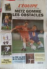 L'Equipe Journal 14-15/03/1998; Metz gomme les obstacles/ Platini vers la Fifa