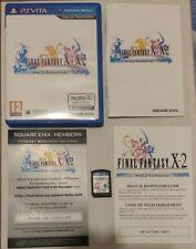 Final Fantasy X/X-2 HD (Sony PlayStation Vita) PAL UK Complete Free Postage