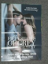 50 Shades of Grey 3 - Befreite Lust - A1 Filmposter
