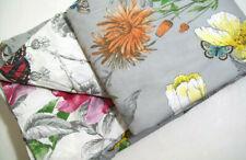 Pottery Barn Humming Bird Flower Reversible Cotton Full Queen Duvet Cover 2 Sham