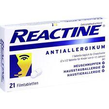 Reactine Antiallergikum 21 pièces PZN2152240