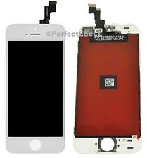 Cracked Screen LCD Digitizer replacement For iPhone 5S A1533 A1453 A1457 White