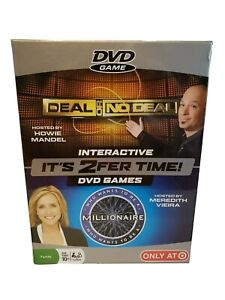 It's 2fer Time! Interactive DVD Games 2008 Target Exclusive