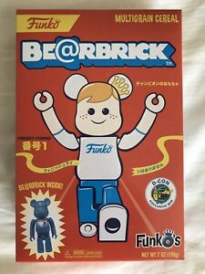Designercon 2018 Exclusive Funko Be@rbrick cereal with toy LE 1000 bearbrick