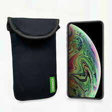 Komodo Apple iPhone XS MAX Neoprene Case Sock Phone Pouch Smartphone Cover Black