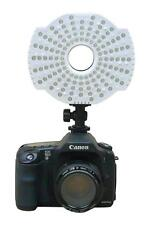126 Led Video Ring Light Dimmer Control Canon Nikon Leica Olympus Pentax Camera