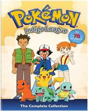 Pokemon: Season 1 - Indigo League - The Comp Coll (2014, DVD NIEUW)9 DISC SET