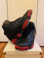 Nike Air Jordan XIII 13 Retro Black Red Dirty Bred White OG Size 12 414571-003