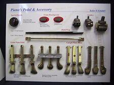 Vintage Kohler & Campbell Piano Salesman Sample Piano Parts & Pedals Display