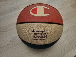 CHAMPION Official Utah Retro Vintage Ball - Basketball Size 7