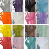 Pair (x2) Of Voile Tie Backs - Tiebacks Holdbacks Voile Curtains & Nets