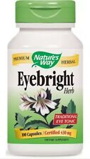 Eyebright Herb - 100 Caps - Nature's Way FAST SHIPPING