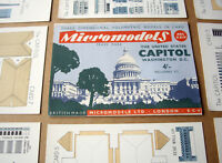 1955 Vintage Original Micromodels ARC24 The USA Capitol Building Washington DC