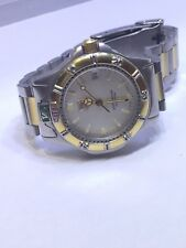 TAG Heuer Ladies 4000 Series 995.713A Silver Dust Dial Two-Tone S/S Quartz Watch