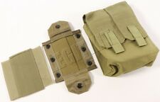 NEW Eagle Industries MLCS Gunners SAW Ammo Pouch MJK Tan Buckle Navy SEAL MOLLE