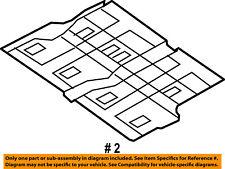CHRYSLER OEM Floor Rails-Rear-Center Floor Pan 5109038AD