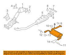 VOLVO OEM 14-16 XC60 3.0L-L6-Exhaust Muffler-Rear 31392530