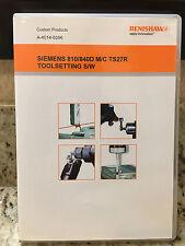 RENISHAW A-4014-0396 SIEMENS 810/840D M/C TS27R TOOL PROBING SOFTWARE *NEW*