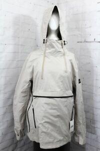 Holden 3 Layer Anorak Snowboard Jacket, Men's Medium, Natural/Off White New