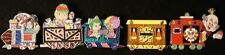 Disney DSF Wreck It Ralph Sugar Rush Train Vanellope King Candy Set of 5 Pin LE