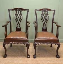 Walnut Louis XV/Neoclassical Edwardian Chairs (1901-1910)