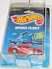 Hot Wheels SPEED FLEET Thunderbird Stocker on card & 'n protecto