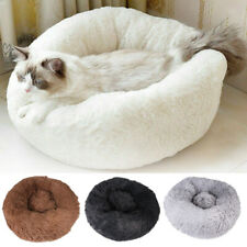 Dog Pet Cat Calming Bed Warm Large Mat Comfy Puppy Washable Fluffy Cushion Plush